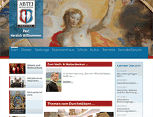 Tablet Preview of abtei-michaelbeuern.at